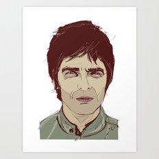 Noel Gallagher Art Print