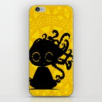 yoga iPhone & iPod Skins featuring Yoga by BLOOP