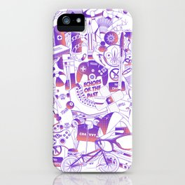 Echoes of the past iPhone Case