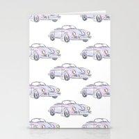 porsche Stationery Cards featuring Porsche by Kara Ashley Shreeve
