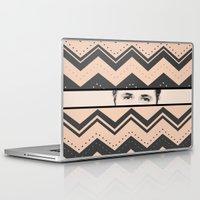 ryan gosling Laptop & iPad Skins featuring Gosling Eyes by AmorFati