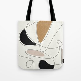 Thin Flow III Tote Bag