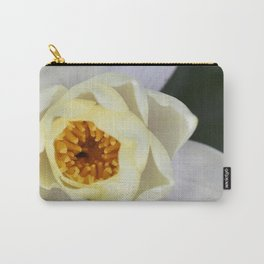 White Lilly 2 Carry-All Pouch
