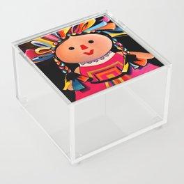 MEXICAN MARIA DOLL*** Acrylic Box
