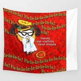 BAD GRACE: Christmas Pageant Wall Tapestry