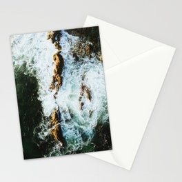 OCEAN - SEA - WATER - ROCKS - PHOTOGRAPHY Stationery Cards