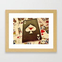 The Devil's Spade Framed Art Print