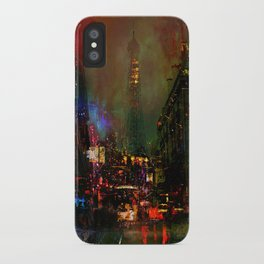 A night in Paris iPhone Case