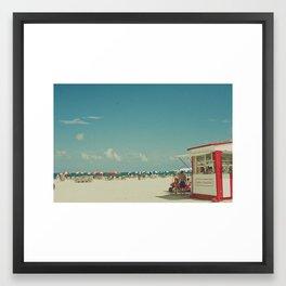 Miami Beach... Framed Art Print