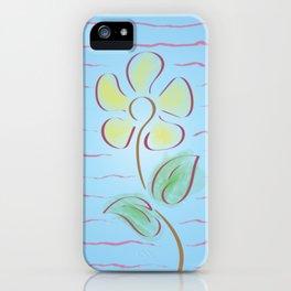 Sunflower for Wabi Sabi Imperfection iPhone Case