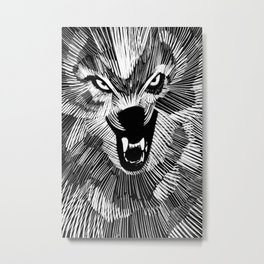 Big Bad Wolf Metal Print