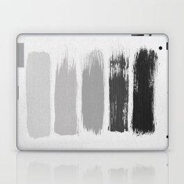 Black & White Stripes Laptop & iPad Skin