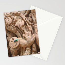 Wasp on a Stone Carving Stationery Cards