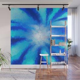 Tropical Sea Flower Wall Mural