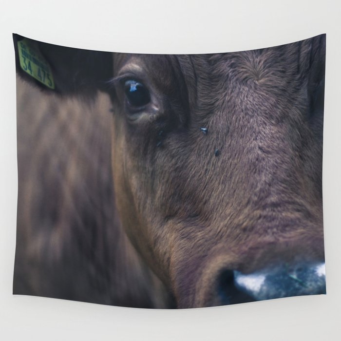 Cow Wall Tapestry