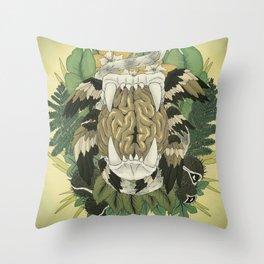 The Island of Dr. Moreau Throw Pillow