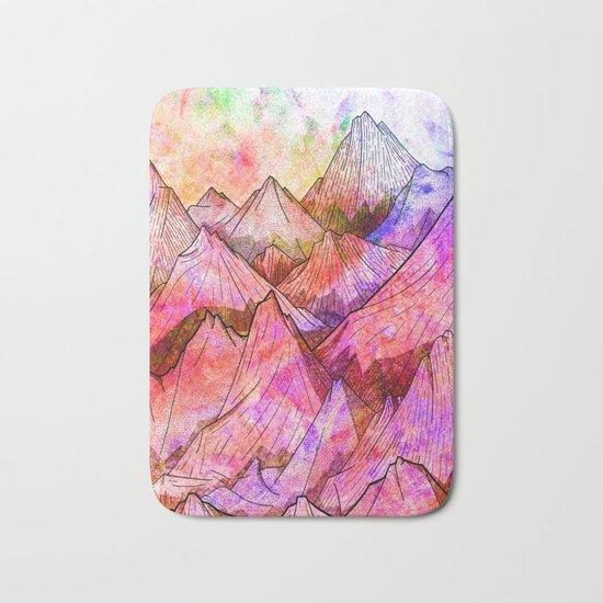 Peaks of Colours Bath Mat