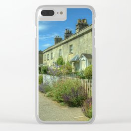 Bathampton Canal Cottages Clear iPhone Case
