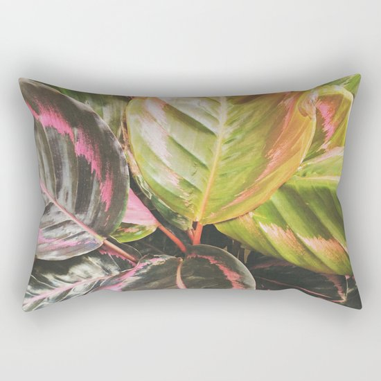 Leafy Rectangular Pillow