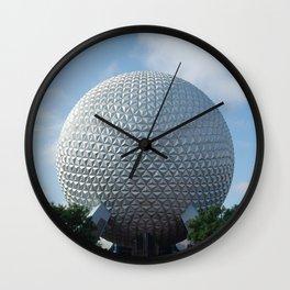 Spaceship Earth Wall Clock