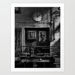 Old Factory 1 Art Print