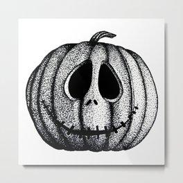 Jack O'Lantern Metal Print
