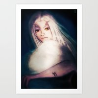 dark souls Art Prints featuring Priscilla [Dark Souls] by JeyJey Artworks