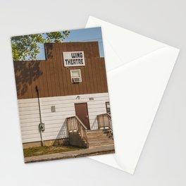 Movie Theater, Wing, North Dakota Stationery Cards