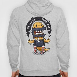 Unqualified Guest Worker is Looking for Job Hoody
