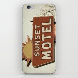 Sunset Motel iPhone Skin