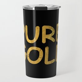 Pure Gold Travel Mug
