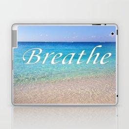 Breathe Cayman Relaxing Beach Waves Laptop & iPad Skin