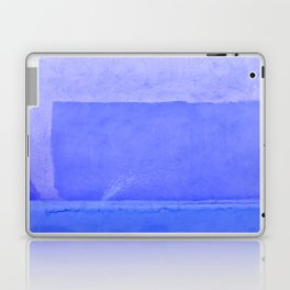 Blue City of Chefchaouen in Morocco Laptop & iPad Skin