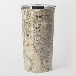 Vintage Map of Parma Italy (1840) Travel Mug