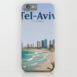 Visit Tel-Aviv iPhone Case