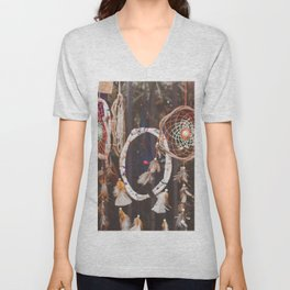 Dream Catcher (Color) Unisex V-Neck