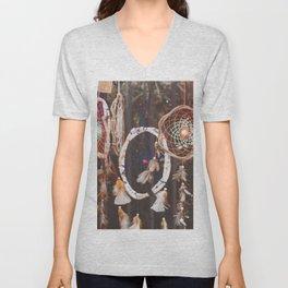 Dream Catcher (Color) Unisex V-Neck