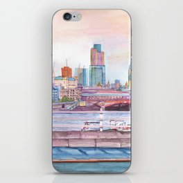 Colorful London iPhone Skin
