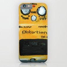 Guitar Pedal Boss DS1 Alternative Acrylic On Canvas iPhone 6 Slim Case