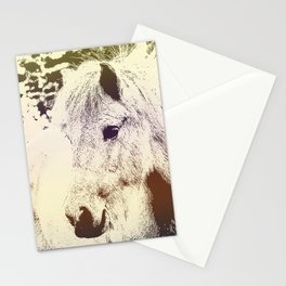 Colored Pony Stationery Cards