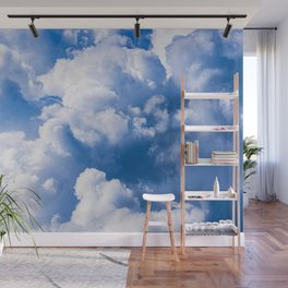Stormy Clouds Pattern Wall Mural