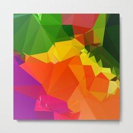 geo colorwheel Metal Print