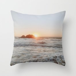 summer sunset iii Throw Pillow