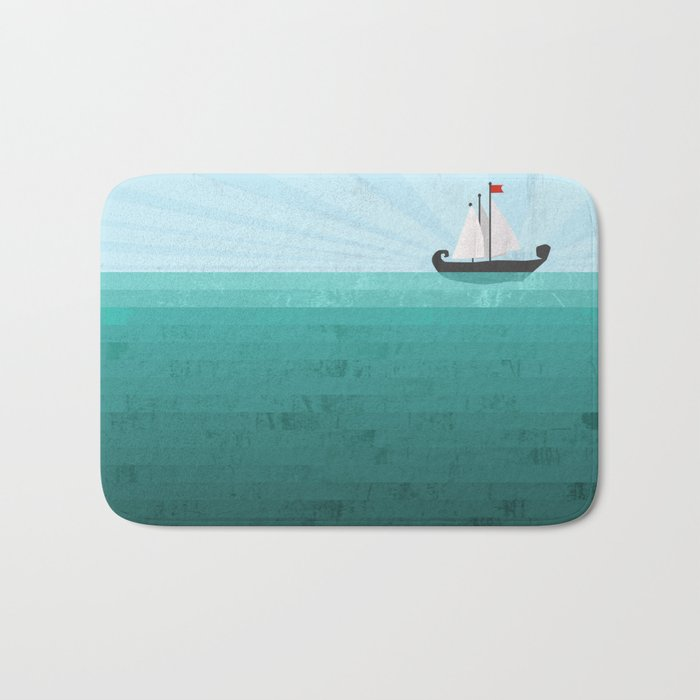 Sail Bath Mat