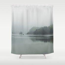 Fog - Landscape Photography Shower Curtain