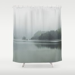 Fog - Landscape Photography Shower Curtain