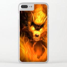 kurama Clear iPhone Case