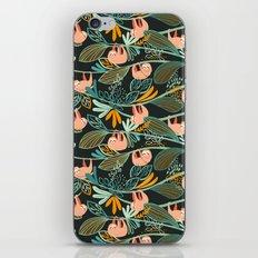 Jungle Sloths Dark iPhone & iPod Skin