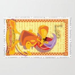 Astrological Zoodiac - Leo Rug
