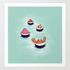 Tasty playground Art Print